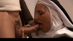 Holy Mom Gets Hard Cock